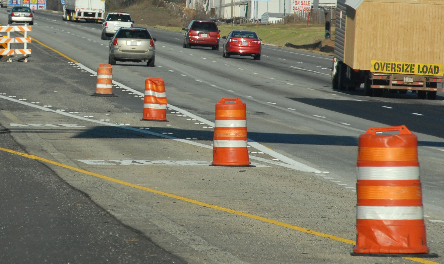Daytime Lane Closure Planned On I 85 For The Georgia Express Lanes I 85  Extension (Gwinnett)
