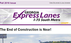 I-75 South Metro eNewsletter
