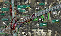 I-285 Project Map